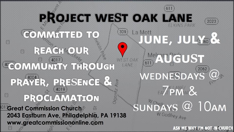 Project West Oak Lane(PWOL)