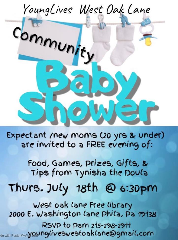 Young Lives West Oak Lane Community Baby Shower