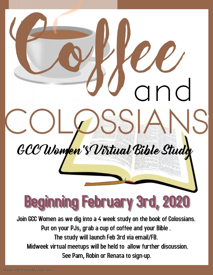 GCC Women's Ministry – Coffee and Colossians