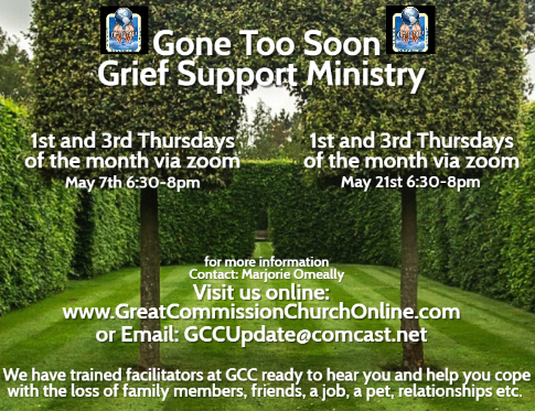 GCC Gone Too Soon Ministry